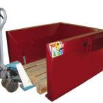 Palettenspender Pneumatisch-Automatik für 15 Paletten