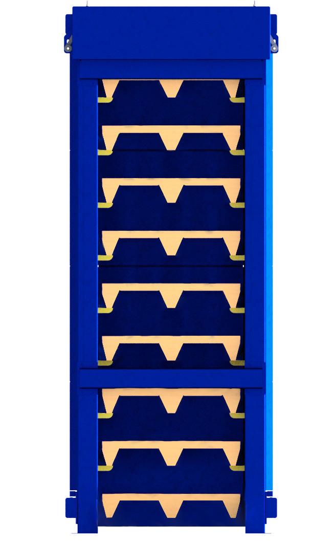 MV - Palettenspender S1.01 für INKA-Paletten